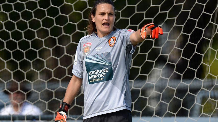 Nadine Angerer, ehemalige Torhütern der deutschen Fußballnationalmannschaft der Frauen