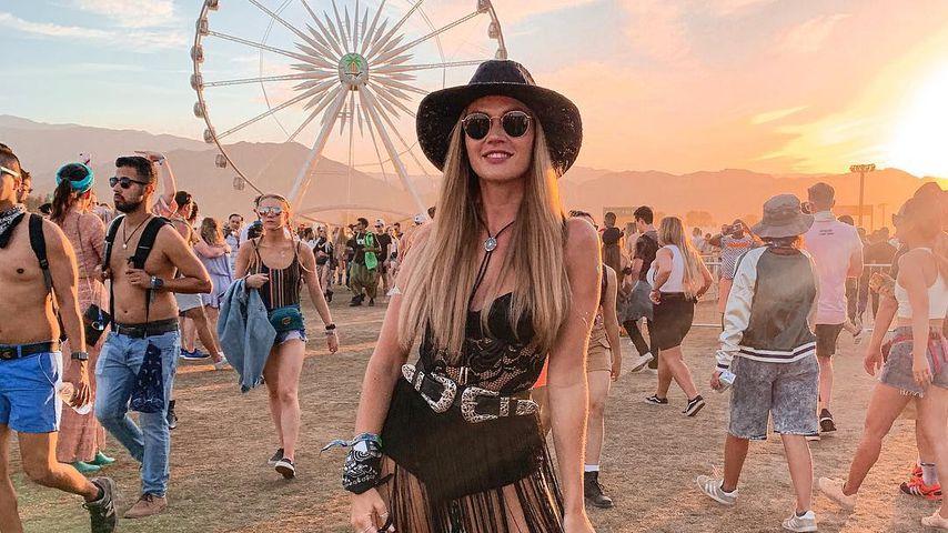 Nadine Klein auf dem Coachella-Festival 2019