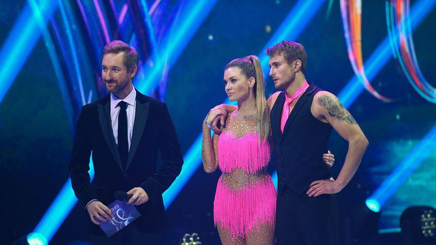 Daniel Boschmann, Nadine Klein und Niko Ulanovsky