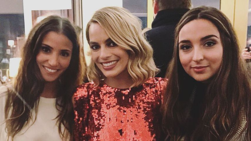 """Fanmoment"": Ex-GZSZ-Girls mit Margot Robbie in Berlin!"