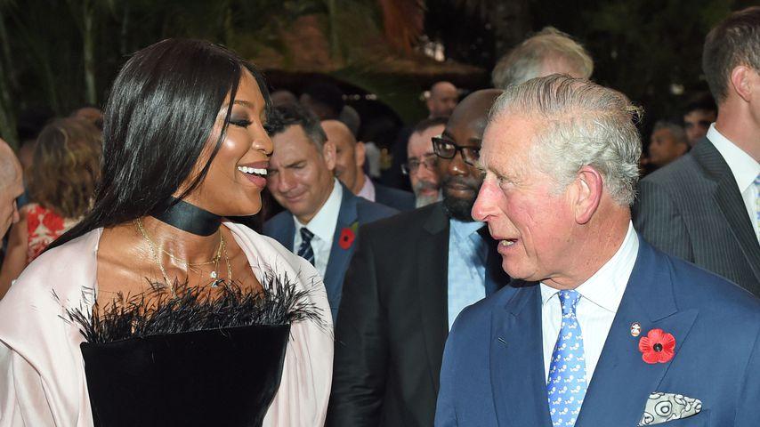 Prinz Charles bekommt Riesen-Kompliment von Naomi Campbell