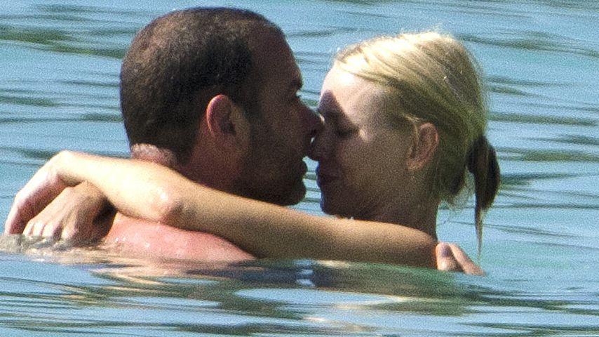 Liev Schreiber und Naomi Watts im Urlaub