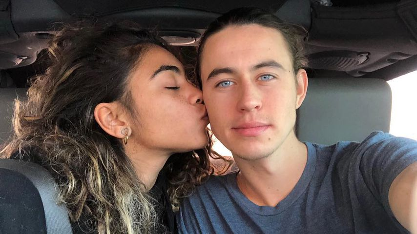 Nash Grier mit seiner Freundin