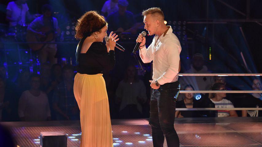 """Nastja Isabella Zahour und Erwin Kintop bei den Battles von """"The Voice of Germany"""""""