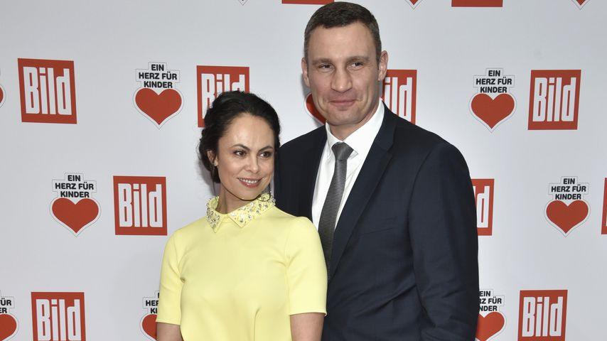 Natalia Klitschko und Vitali Klitschko, Dezember 2016
