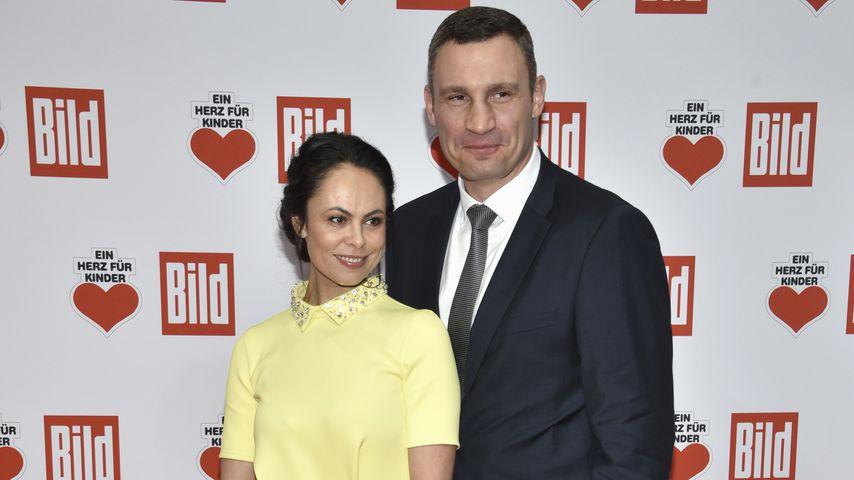 """Natalia Klitschko und Vitali Klitschkobei der """"Ein Herz für Kinder""""-Gala 2016"""