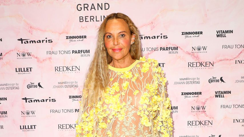 Natascha Ochsenknecht bei der Fashion Week