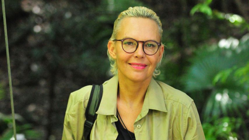 Natascha Ochsenknecht beim Verlassen des Dschungelcamps