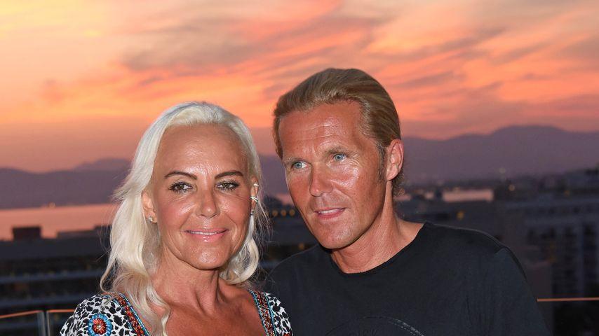 Natascha Ochsenknecht und ihr Freund Oliver, August 2018