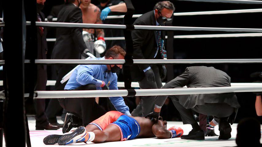 Nate Robinson beim Boxkampf gegen Jake Paul