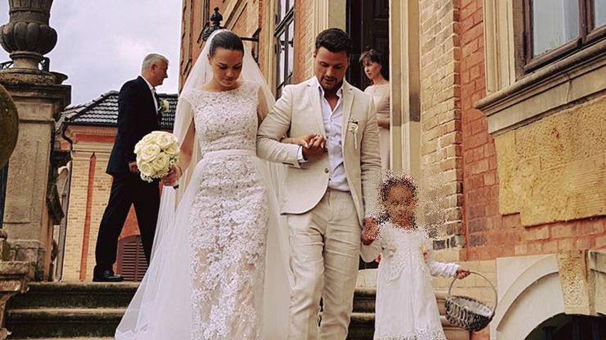 Nathalie und Rocco Stark bei ihrer Hochzeit