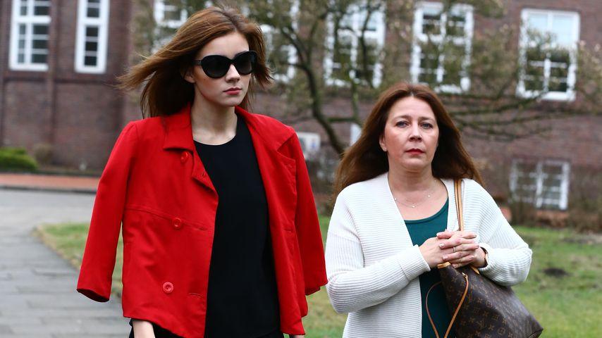Nathalie Volk und ihre Mutter Viktoria