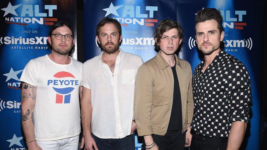 Nathan, Caleb, Matthew und Jared Followill bei SiriusXM