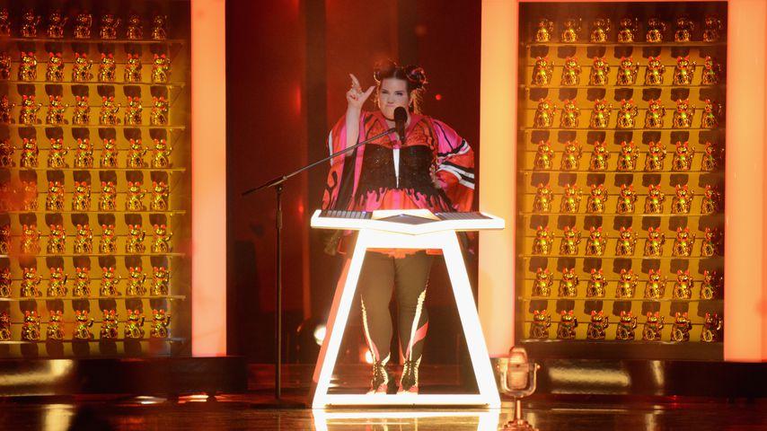 Netta Barzilai, Gewinnerin des 63. Eurovision Song Contests