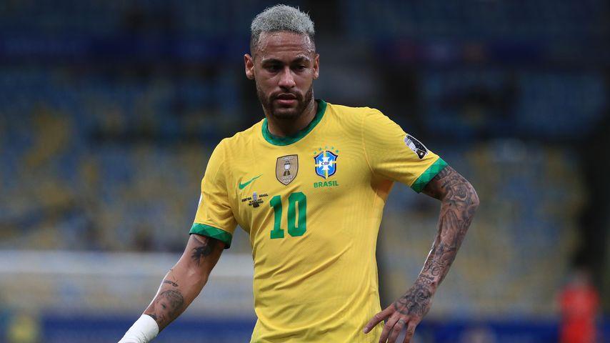 Neymar beim Finale des Copa America Brazil 2021