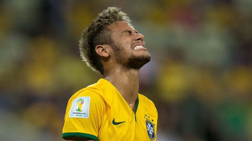 Neymar Jr. bei der Fußball-WM 2014