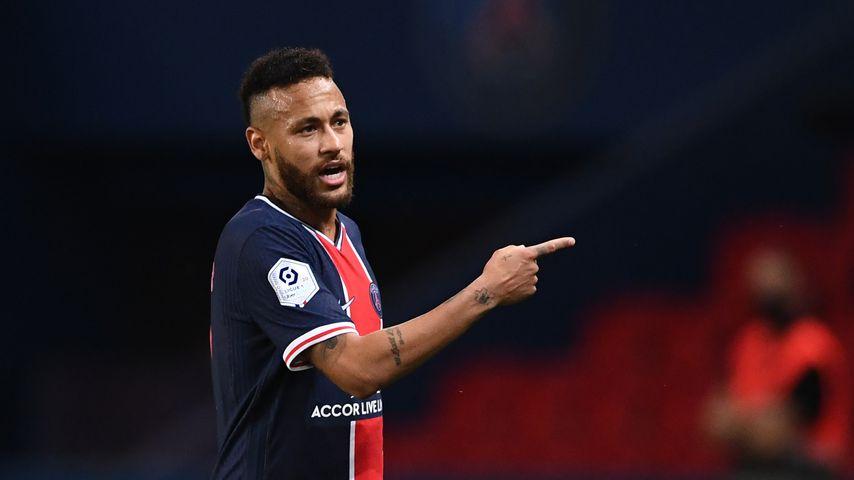 Neymar Jr. bei einem Fußballspiel in Paris im September 2020