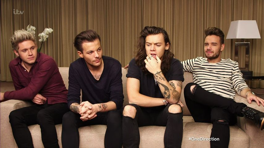 Harry Styles, Louis Tomlinson und Niall Horan