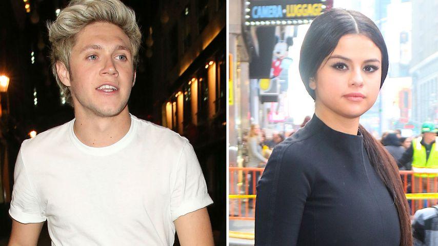 Duftiges X-Mas! Niall schenkt Selena Gomez sein Müffel-Shirt