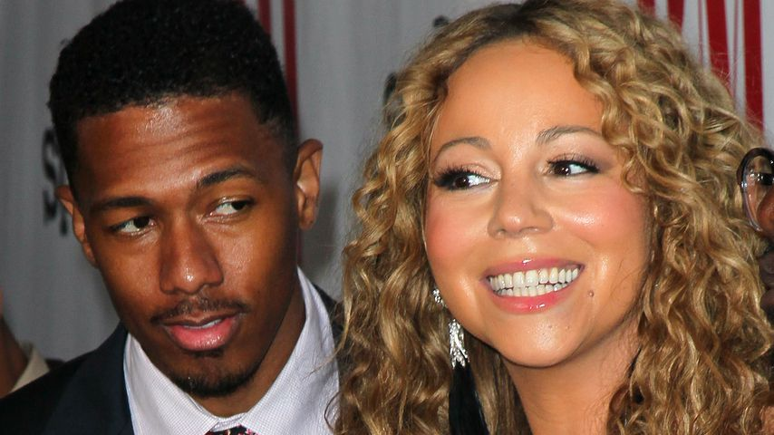 Nick Cannon und Mariah Carey in Beverly Hills, 2012