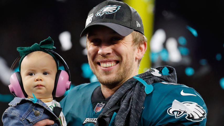 Super-Bowl-Held: Foles siegt dank Frau & Baby-Tochter