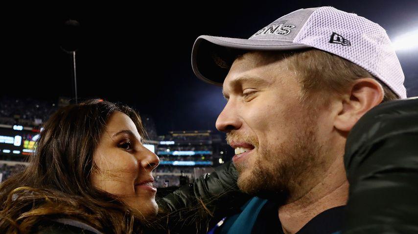 Nick Foles und seine Frau Tori Moore Foles