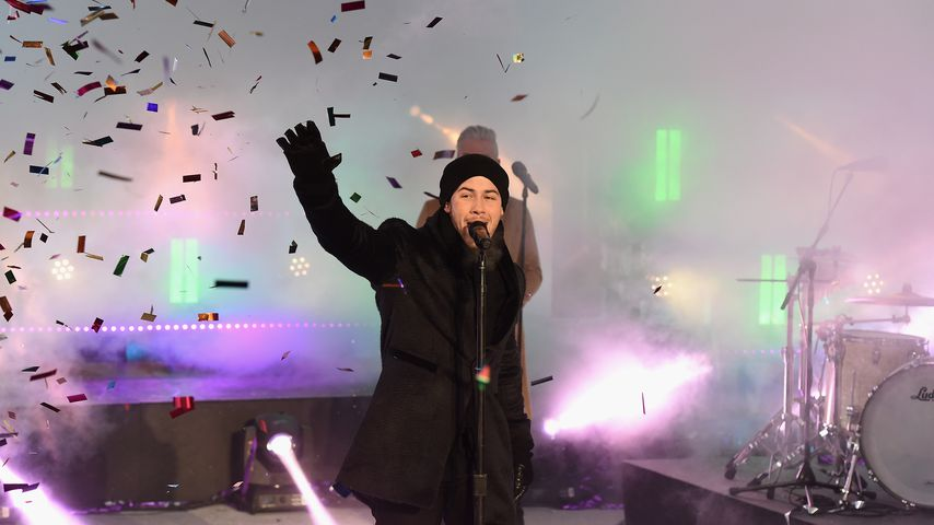 Nick Jonas beim Dick Clark's New Year's Rockin' Eve with Ryan Seacrest 2018