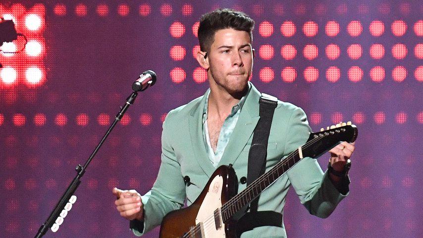 Nick Jonas bei einem Konzert im Madison Square Garden im August 2019