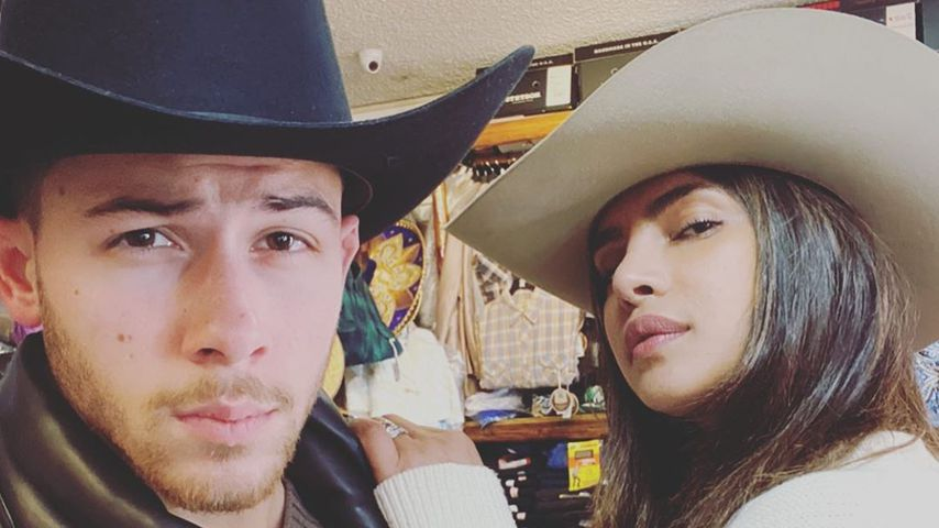Nick Jonas und Priyanka Chopra, Mai 2020