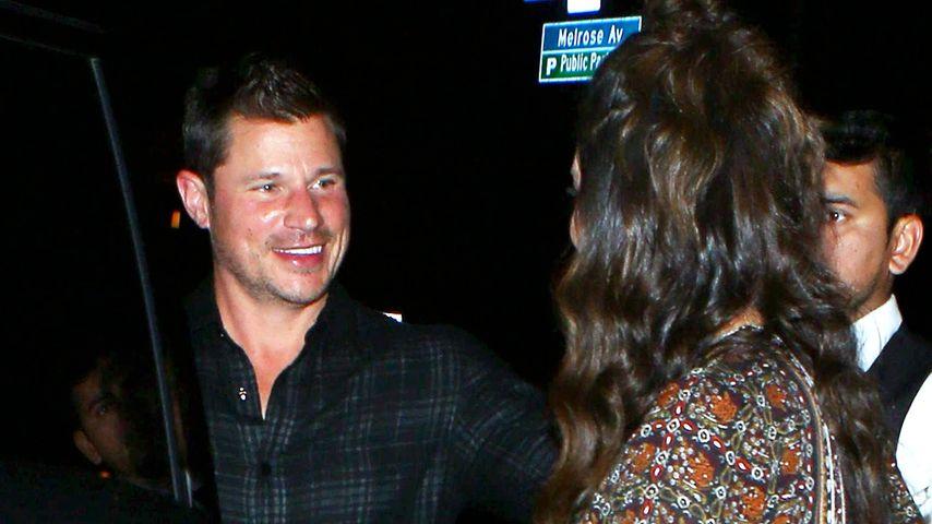 Nick Lachey und seine schwangere Frau Vanessa Lachey in Beverly Hills