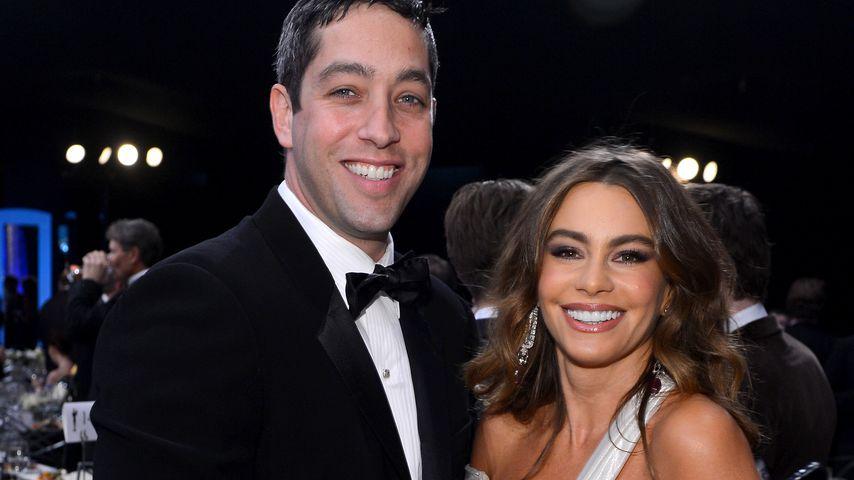 Nick Loeb und Sofia Vergara bei den SAG-Awards in L.A. im Januar 2012