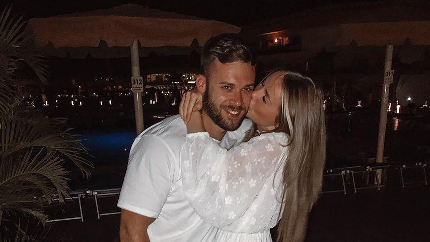 Doch alles gut: Liz Kaeber und Mann Nick gemeinsam im Urlaub