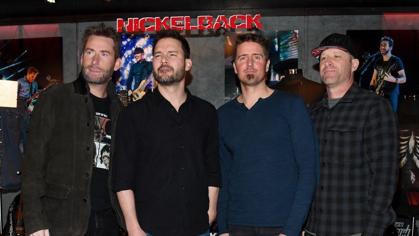 Nickelback in Las Vegas im Februar 2018