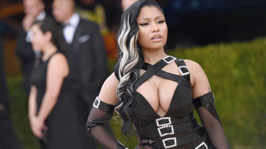 Ärger um Wachsfigur: Fans machen Sex-Bilder mit Nicki Minaj