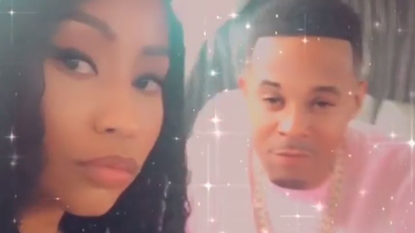 Nicki Minaj und Kenneth Petty, Februar 2020