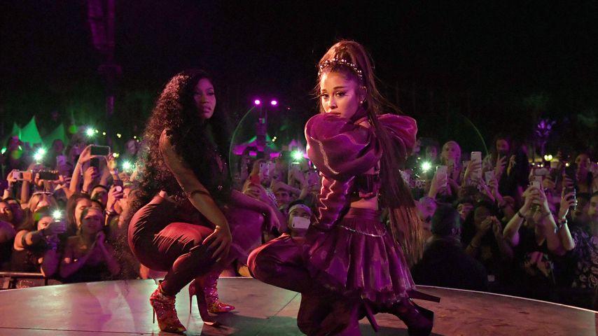 Mit Nicki Minaj & Diddy: Coachella überwältigt Ari Grande!
