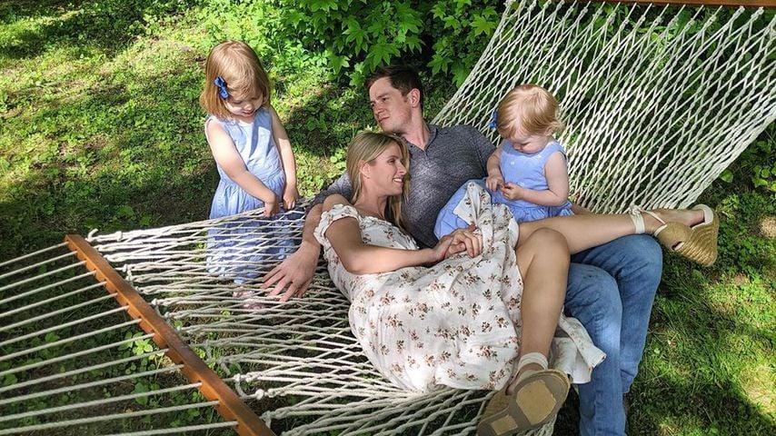 Nicky Hilton und James Rothschild mit ihren Töchtern Lily und Teddy, Juni 2019
