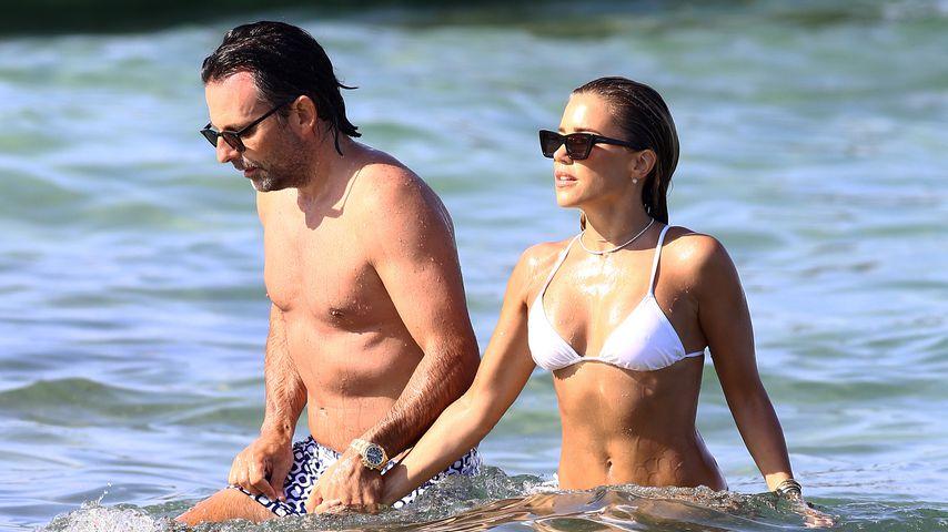 Niclas Castello und Sylvie Meis in St. Tropez im August 2020