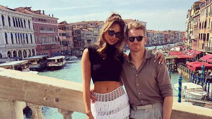 Nico Hülkenberg und seine Frau in Venedig