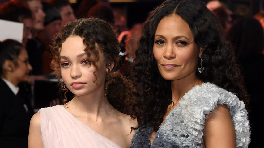 Nico Parker und ihre Mutter Thandie Newton