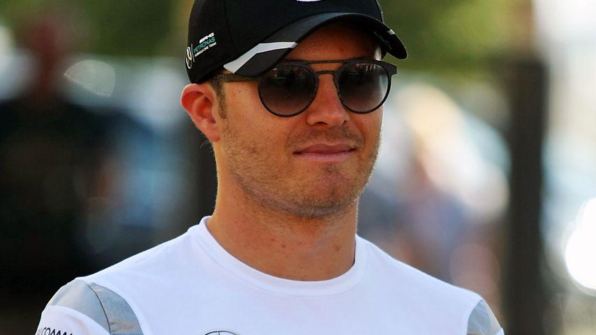Nico Rosberg beim großen Preis von Deutschland auf dem Hockenheimring