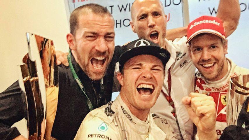 Nico Rosberg nach dem Gewinn des Weltmeistertitels