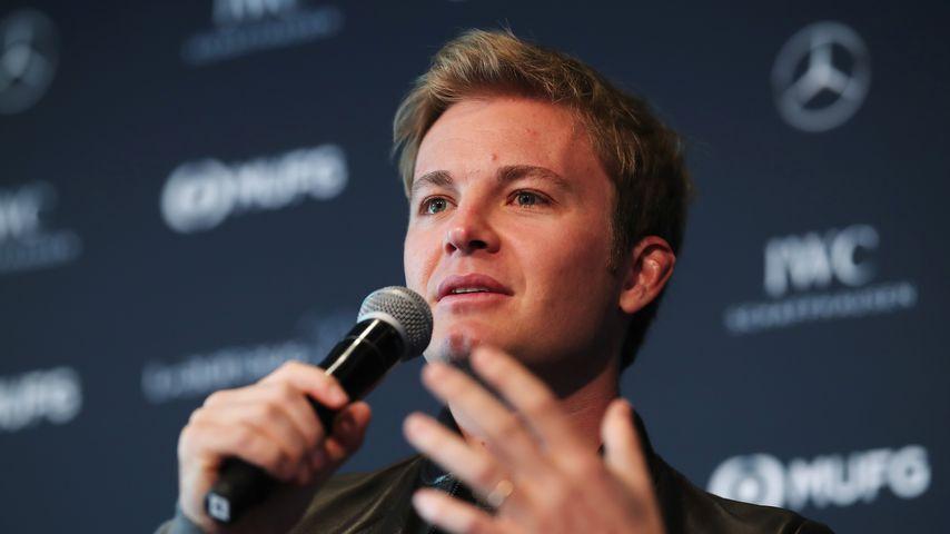 Nico Rosberg bei einer Pressekonferenz 2019
