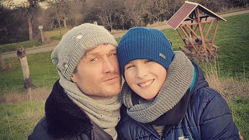 Nico Schwanz mit seinem Sohn Damian
