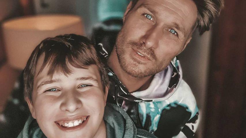 Liebeserklärung: Nico Schwanz teilt seltenes Bild mit Sohn