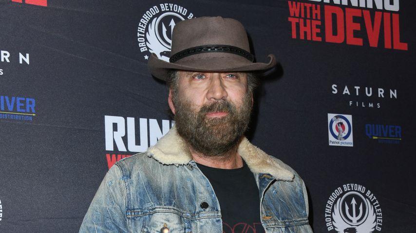 Für obdachlos gehalten: Nicolas Cage aus Restaurant geworfen
