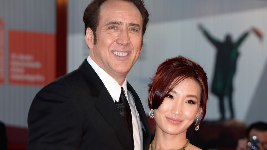 Nicolas Cage und Alice Kim beim Venice International Film Festival