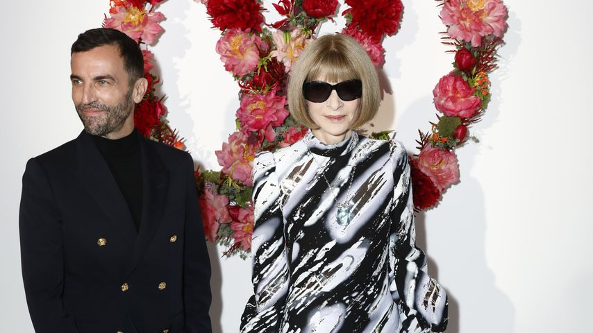 Nicolas Ghesquière und Anna Wintour beim Louis Vuitton Parfum Dinner