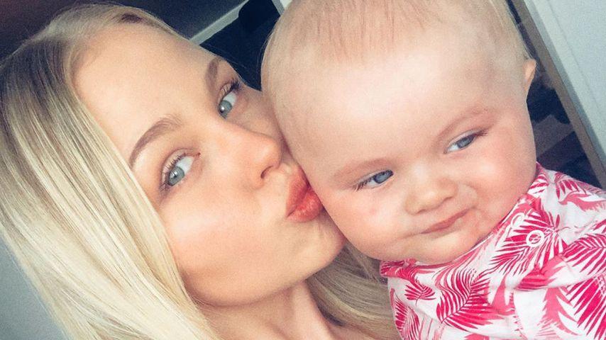 Nicole Handwerker mit ihrer Tochter, Juni 2019