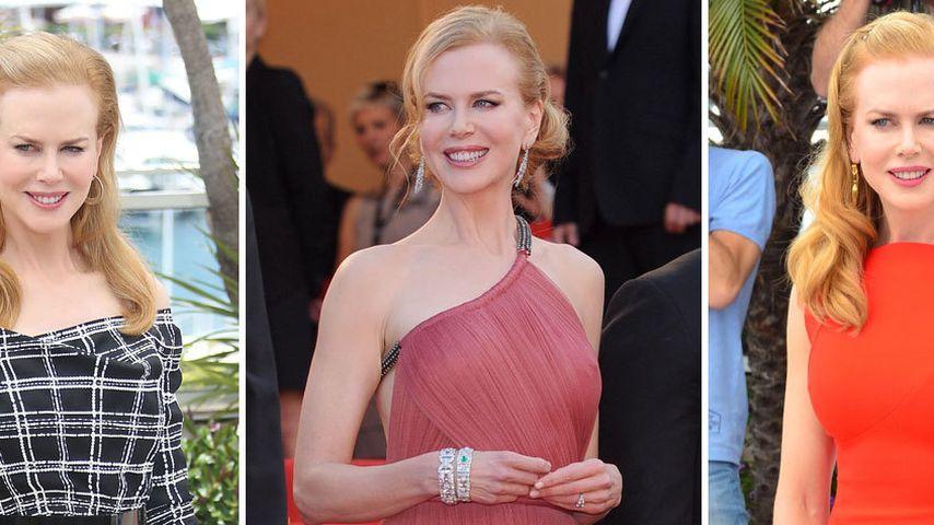 Nicole Kidman: Glamour-Mode-Marathon in Cannes